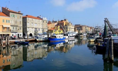 Zdjęcie WłOCHY / Laguna Wenecka / Chioggia / Kutrowisko