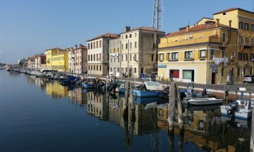Zdjęcie WłOCHY / Laguna Wenecka / Chioggia / Przydomowy parking