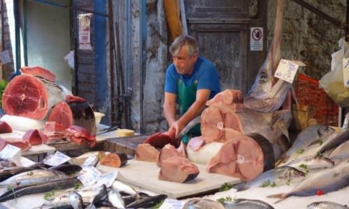 Zdjecie WłOCHY / Sycylia / Palermo / Targ rybny
