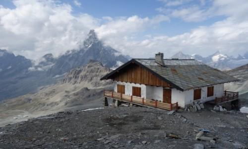 WłOCHY / Alpy Pennińskie / Plateau Rosa 3480 m n.p.m. / Matterhorn