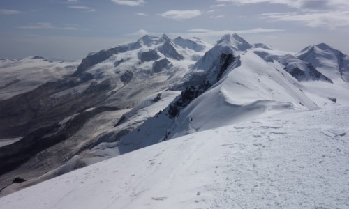 Zdjęcie WłOCHY / Alpy Pennińskie / Cervinia / Breithorn 4164 m n.p.m.