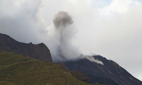 Zdjęcie WłOCHY / Wyspy Liparyjskie / Stromboli / erupcja