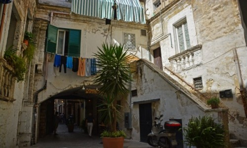 Zdjęcie WłOCHY / Apulia / Bari / Ulice Bari