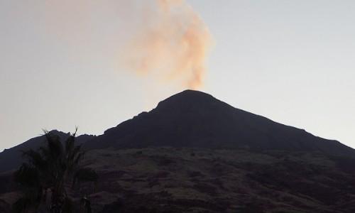 Zdjecie WłOCHY / Wyspy Liparyjskie / Stromboli / zachód Słońca