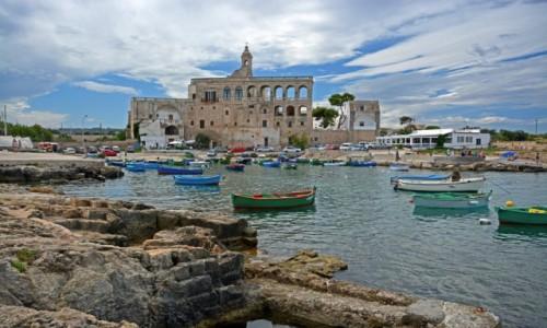 Zdjęcie WłOCHY / Apulia /  Polignano a Mare / Abbazia di San Vito
