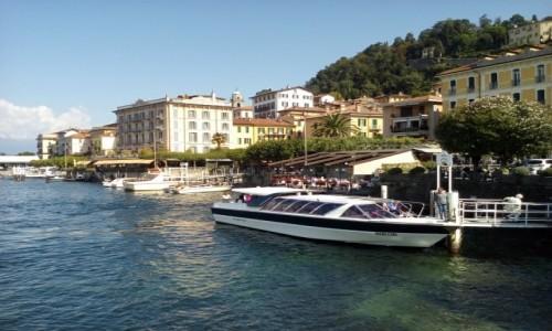Zdjecie WłOCHY / Lombardia / Jezioro Como - Bellagio przystań / Bellagio