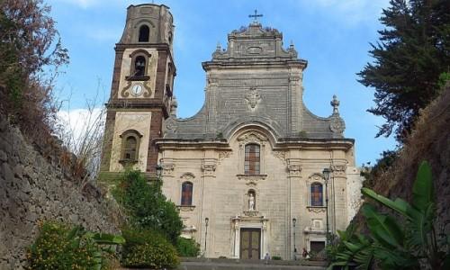 Zdjęcie WłOCHY / Wyspy Liparyjskie / Lipari / katedra