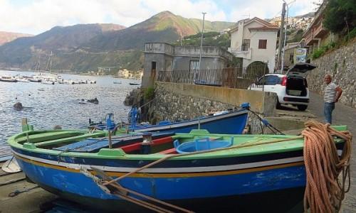 Zdjęcie WłOCHY / Kalabria / Scilla / port rybacki