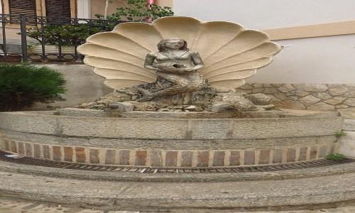 Zdjęcie WłOCHY / Kalabria / Scilla / fontanna