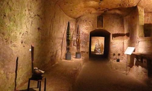 Zdjęcie WłOCHY / Basilicata / Matera / wnętrze Chiesa di Madonna delle Virtu