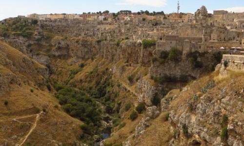 Zdjęcie WłOCHY / Basilicata / Matera / widok na Sasso Caveoso