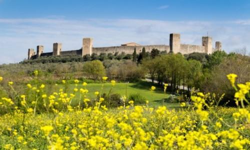 Zdjecie WłOCHY / Toskania / Monteriggioni / Monteriggioni - miasto za murem