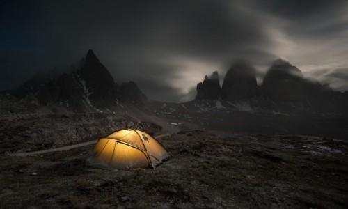 WłOCHY / Dolomity / Tre Cime di Lavaredo / Biwak pod Tre Cime