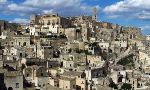 Zdjęcie WłOCHY / Basilicata / Matera / Sasso Barisano widok z Nowego Miasta