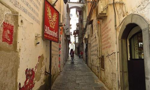 Zdjęcie WłOCHY / Kampania / Salerno / stare miasto