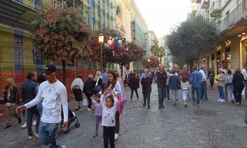 Zdjęcie WłOCHY / Kampania / Salerno / Corso Vittorio Emanuele II