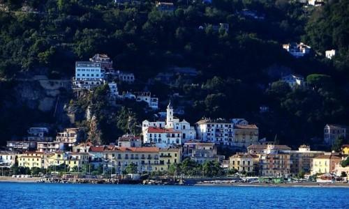Zdjęcie WłOCHY / Kampania / Salerno / panorama Salerno od strony morza