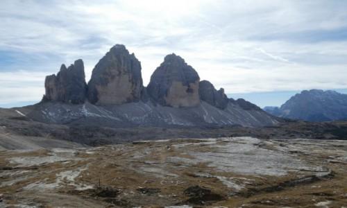Zdjecie WłOCHY / dolomity / Tre Cime de Lavaredo / Tre Cime de Lavaredo