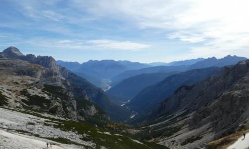 Zdjecie WłOCHY / dolomity / okolice schroniska Auronzo  / piękno  Dolomitów