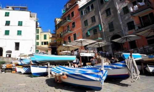 Zdjęcie WłOCHY / Liguria / Riomaggiore / Riomaggiore