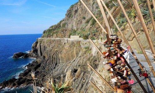Zdjęcie WłOCHY / Liguria / Riomaggiore / Droga miłości