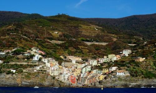 Zdjęcie WłOCHY / Liguria / Cinque Terre / Riomaggiore