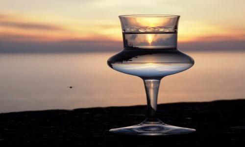 Zdjecie WłOCHY / LiguriaCinque Terre / Corniglia / Grappa o zachodzie słońca