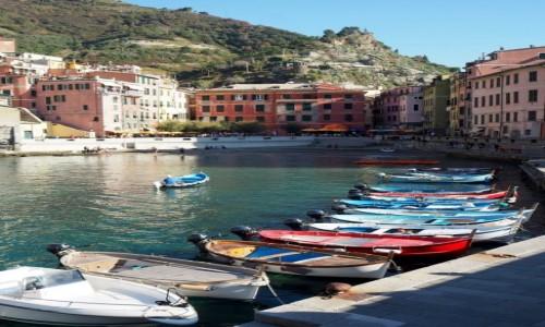 Zdjęcie WłOCHY / Liguria / Cinque Terre / Vernazza