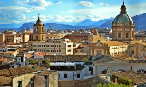 Zdjecie WłOCHY / Sycylia / Palermo / Panorama miasta