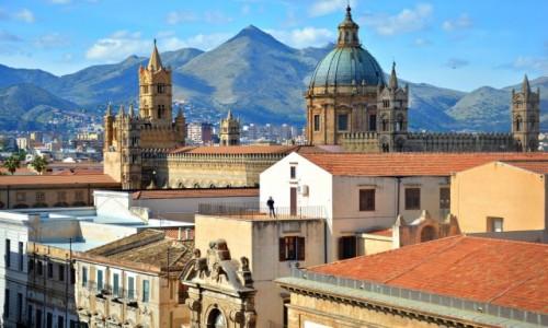 Zdjęcie WłOCHY / Sycylia / Palermo / Widok na katedrę