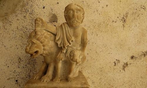 Zdjęcie WłOCHY / Kampania / Amalfi / wirydarz katedralny - detal