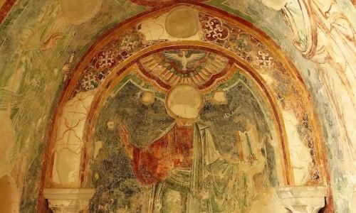 Zdjęcie WłOCHY / Kampania / Amalfi / wirydarz katedralny - fresk