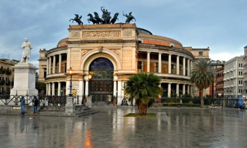 Zdjęcie WłOCHY / Sycylia / Palermo / Teatr Politeama