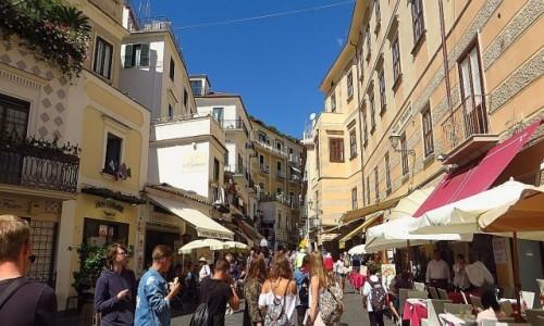 Zdjęcie WłOCHY / Kampania / Amalfi / ulice Amalfi