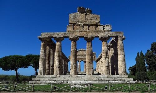 Zdjęcie WłOCHY / Kampania / Paestum / Świątynia Ceres (d. Ateny)