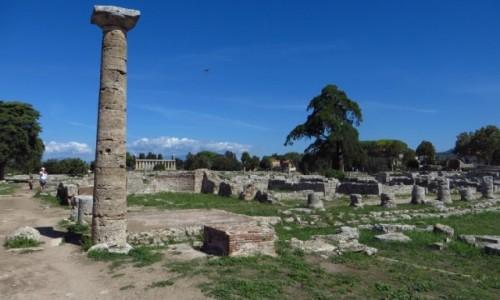Zdjęcie WłOCHY / Kampania / Paestum / Paestum - widok ogólny