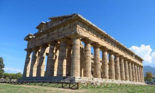 Zdjęcie WłOCHY / Kampania / Paestum / Świątynia Neptuna
