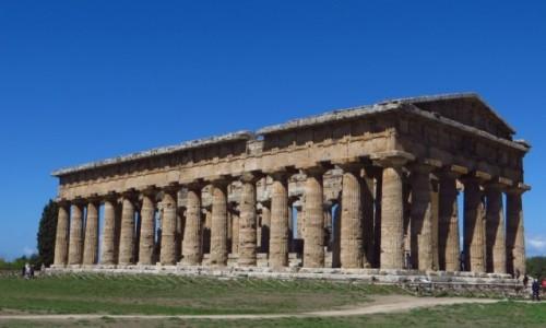 Zdjecie WłOCHY / Kampania / Paestum / Świątynia Neptuna