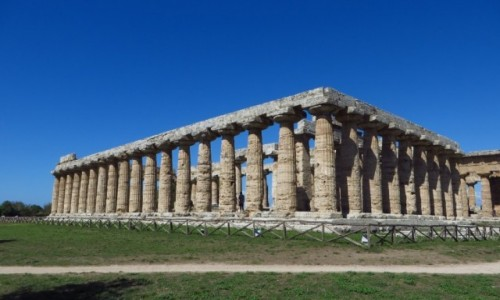 Zdjęcie WłOCHY / Kampania / Paestum / Świątynia Hery (bazylika)