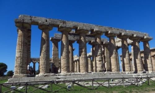 Zdjecie WłOCHY / Kampania / Paestum / Świątynia Hery (bazylika)
