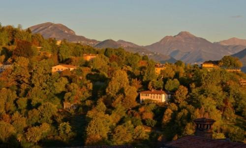 Zdjecie WłOCHY / Lombardia / Bergamo / Bergamo o poranku