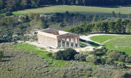 Zdjecie WłOCHY / Sycylia / Park Archeologiczny Segesta  / Segesta