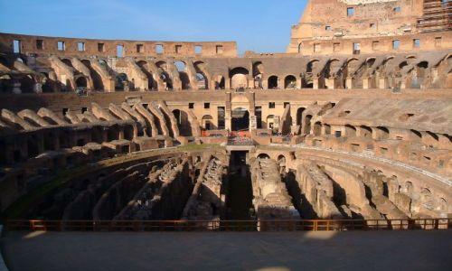 Zdjęcie WłOCHY / Rzym / Rzym / Rzym - arena Koloseum