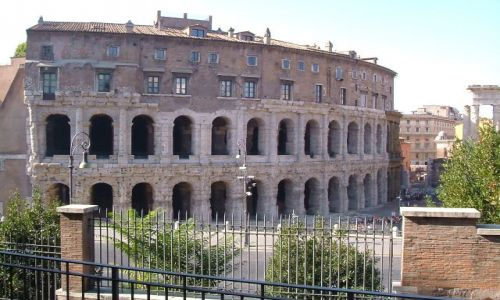 Zdjęcie WłOCHY / Rzym / Rzym / Rzym - teatr Marcellusa
