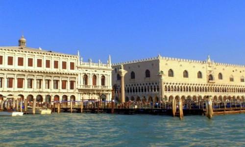 WłOCHY / Wenecja Euganejska / Wenecja / Pałac Dożów (Plazzo Ducale)