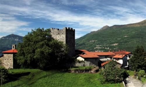 Zdjecie WłOCHY / Lombardia / Dervio / Był sobie zamek