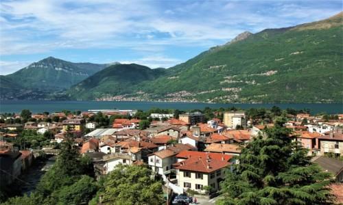 Zdjecie WłOCHY / Lombardia / Dervio / Nad wodą i w górach