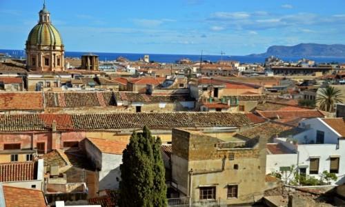 Zdjecie WłOCHY / Sycylia / Palermo / Nad Palermo