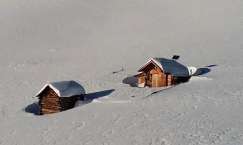 WłOCHY / Alpy / Dolomity / Dolomity w zimie