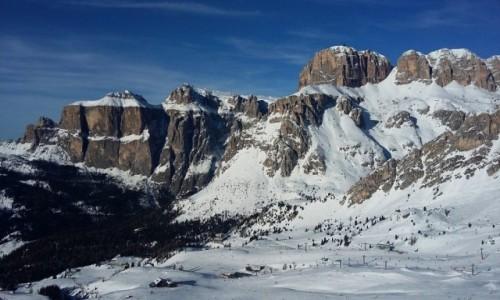 Zdjecie WłOCHY / Alpy / Dolomity / Dolomity w zimie
